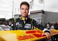 Philipp Eng verteidigte erfolgreich die Führung © Porsche AG
