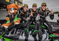 Andrea Caldarelli/ Mirko Bortolotti/ Christian Engelhart © GRT Grasser Racing Team