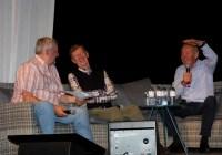Helmut Deimel, Walter Röhrl und Rudi Stohl beim Talk © Topspeed - Rudolf Beranek