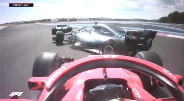 Vettel Bottas pasticcione
