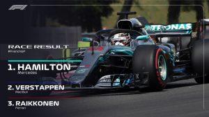 FrenchGp vince Hamilton pasticcio Vettel