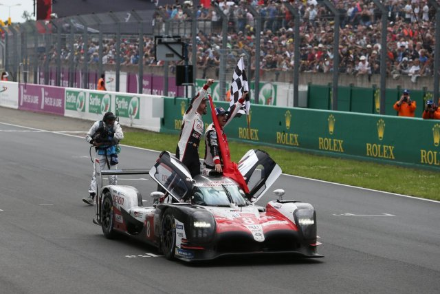 Toyota 24hours Alonso