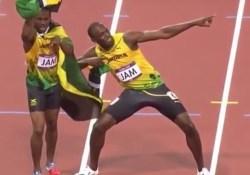 Usain Bolt Power Pose Topsport Lichaamshouding
