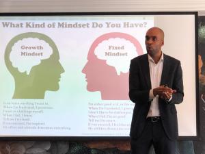 Workshop business mindset Patrick Frimpong