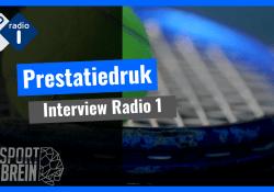 Patrick Frimpong radio interview prestatiedruk topsport