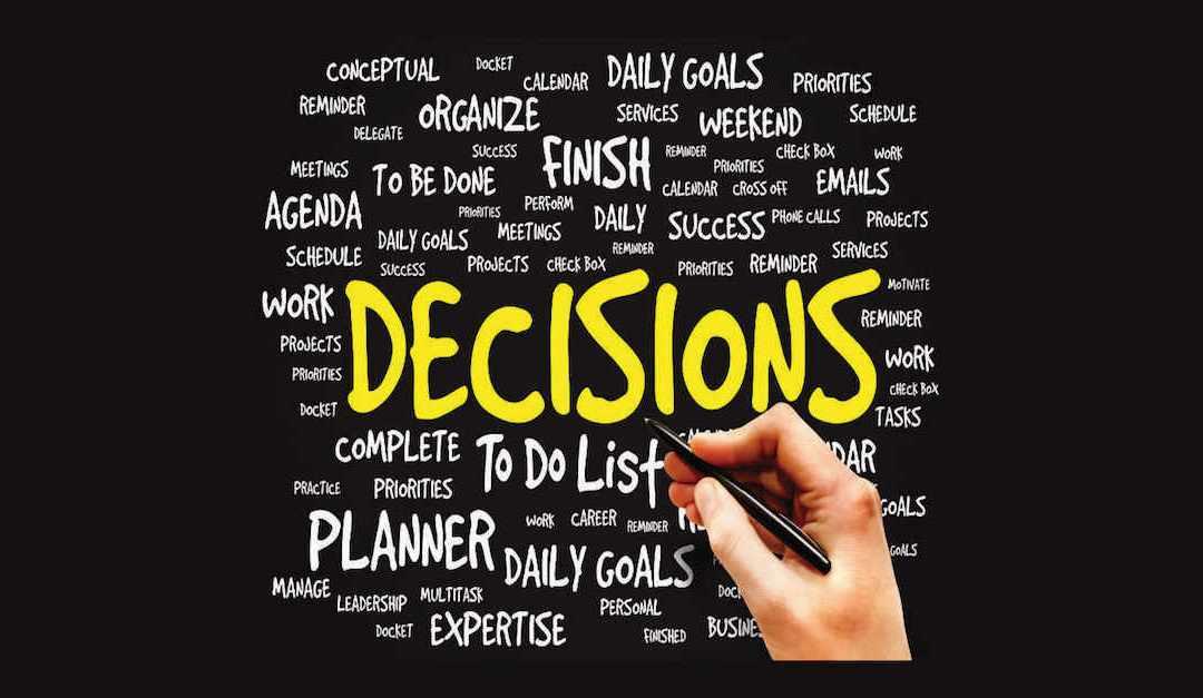 Waarom je in drukke periodes moeilijker besluiten kunt nemen