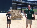 Joe and Me at PETCO Park 2012
