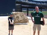 Joe and Me at PETCO Park 2012
