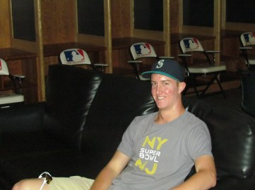Me in the clubhouse