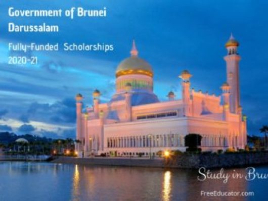 APPLY TO STUDY IN ASIA. THE BRUNEI DARUSSALAM SCHOLARSHIP