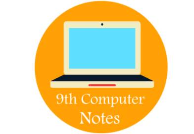 9th Class Computer Notes