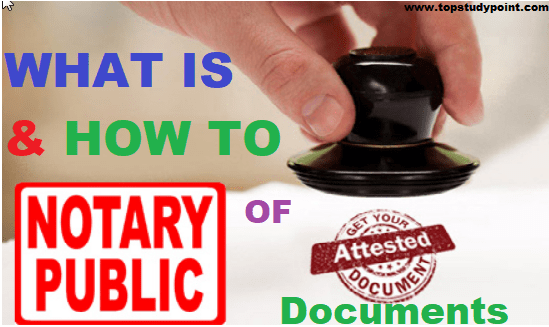How to notary public