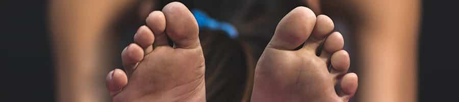 fødder - kokosolie til huden