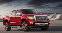 2020 GMC Canyon Engine and Redesign