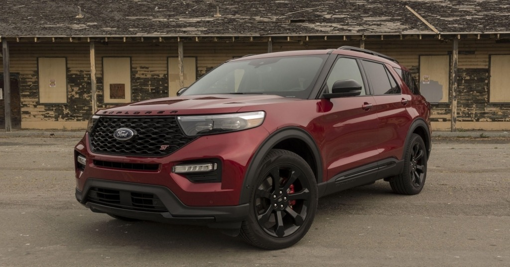 2020 Ford Explorer Images