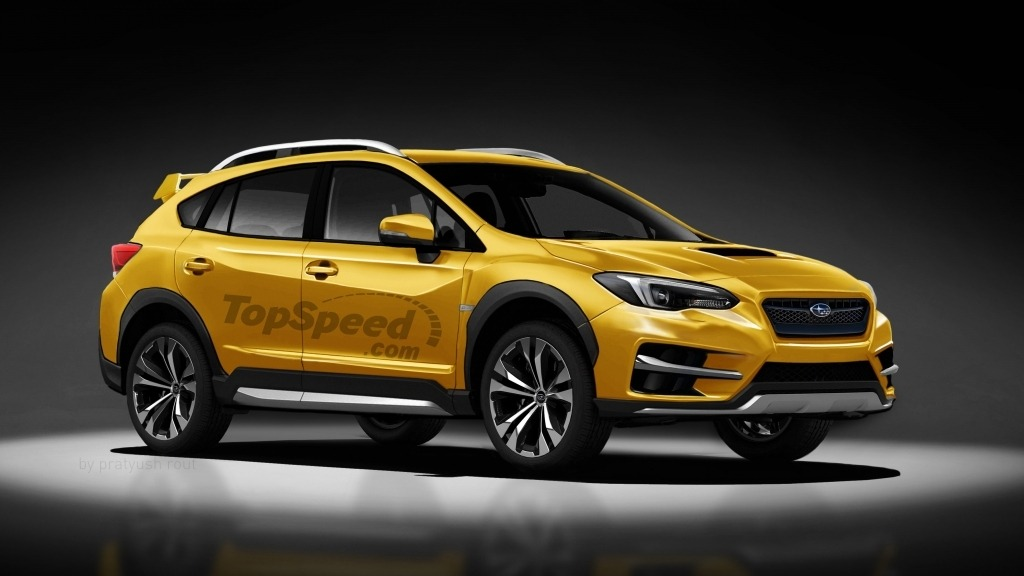 2021 Subaru Crosstrek Spy Photos