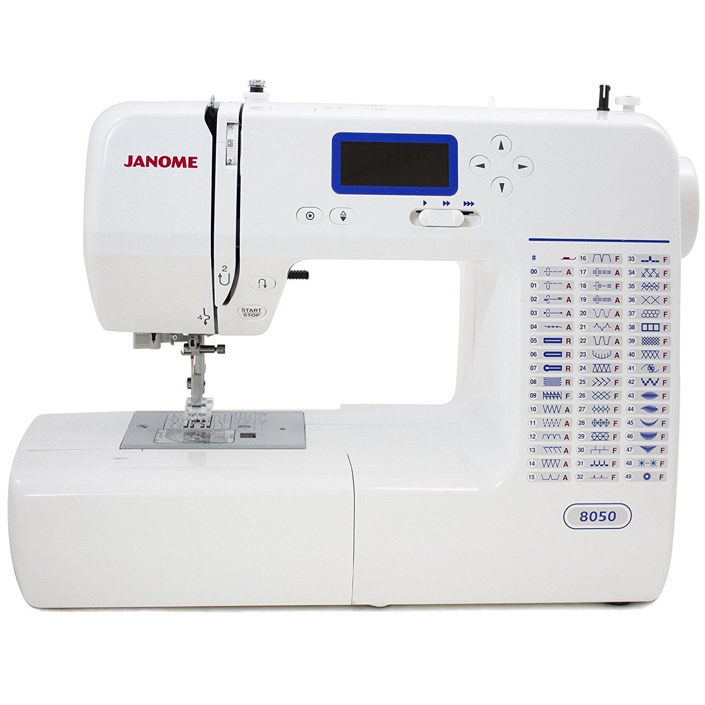 Janome 8050 Computerized Sewing Machine ...