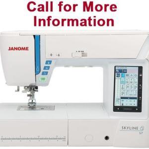 Janome Skyline S7 Computerized Sewing Machine