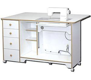 Horn Of America 5680 Elite Elevated Sewing Cabinet / Cutting Table