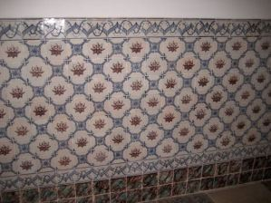Medievil tiles, Museu da Ciência (Science Museum), Coimbra