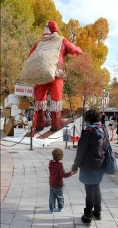 Is that the biggest Santa in Europe?