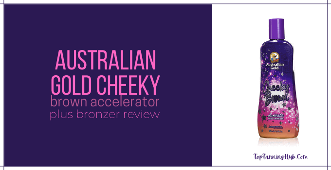australian gold cheeky brown accelerator plus bronzer review