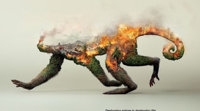 Powerful Images Demonstrate That by Destroying Nature, We Are Destroying Life Itself