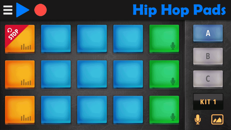 hiphop beat making pads