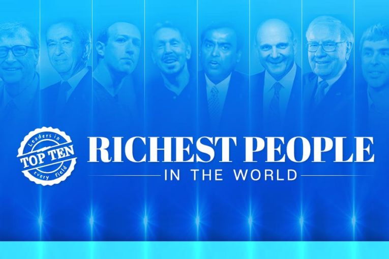 Indian Businessman finally makes it to the Top ten richest person in the world