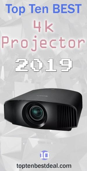Top Ten Best 4k projectors 2019 Pin - 10 Best 4k Projectors 2019