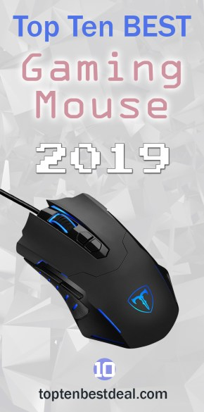Top Ten Best Gaming Mouse 2019 Pin 1 - 10 Best Gaming Mouse 2019
