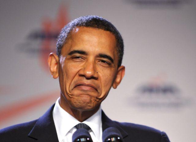 Barack Obama Funny Face