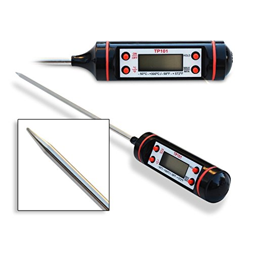 suppose your thermometer consistently read a temperature of 1 2 Shop taylor 9878e 4 1/2 inch digital pocket probe thermometer so you always know how to get the best deal quick temperature reading and backlight is a good.