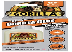 Gorilla 4500104 Clear Glue 1.75