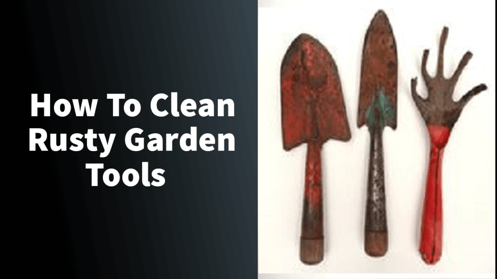 How To Clean Rusty Garden Tools