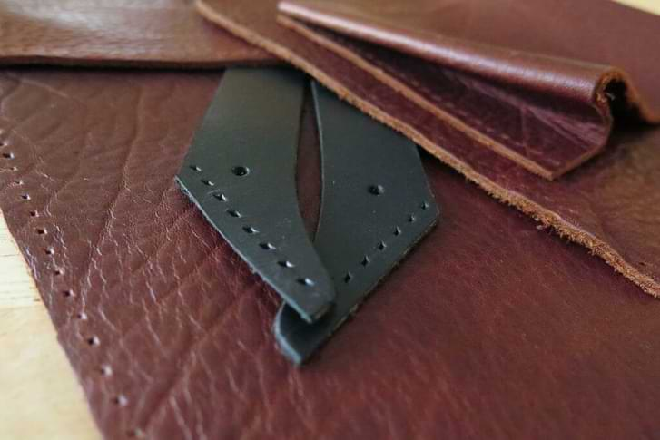 How to Punch Holes for Sewing in Leather