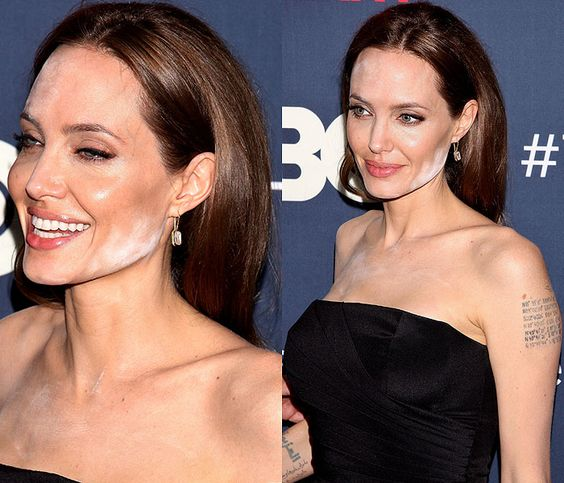 Most Of Us Have Witnessed And Experienced Makeup Failure At Some Or The Other Point In Our Lives Well Famous Celebrities Angelina Jolie Nicole