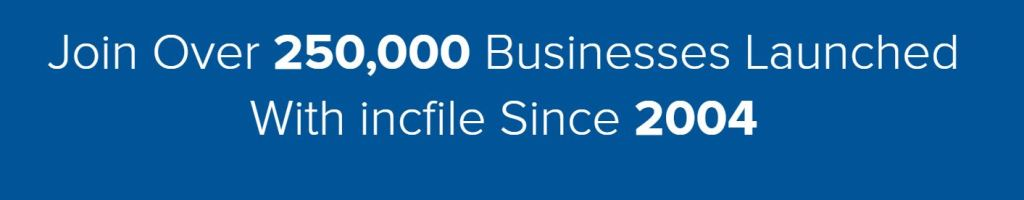 Incfile Over 250,000 business formations