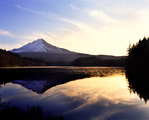 Mt Hood National Forest - Trillium Lake