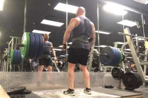 Deadlifts 5 x 5 workout