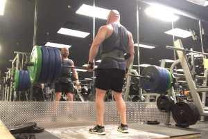 Deadlifts 5 x 5 workout