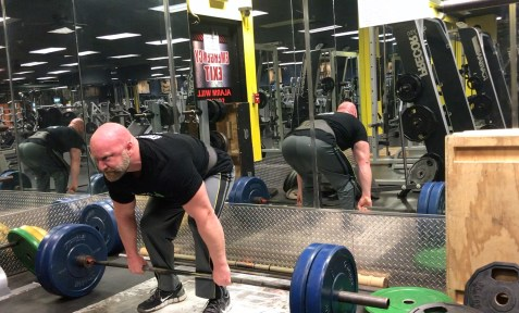 lifting free weights to boost testosterone