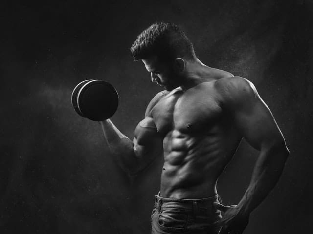 build muscle to naturally boost testosterone