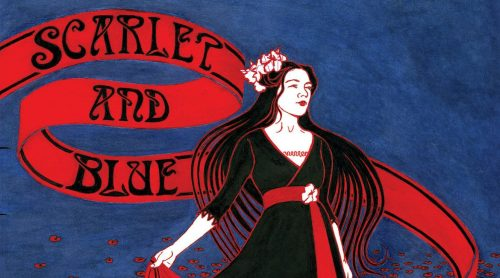 Sairie: Scarlet And Blue