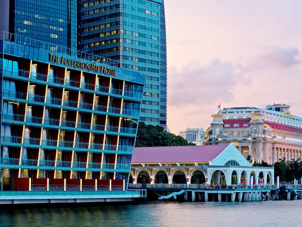 The Fullerton Bay Hotel Singapore and The Fullerton Hotel Singapore Emerge as The Top Two Hotels in Tripadvisor 2020 Travellers' Choice Awards
