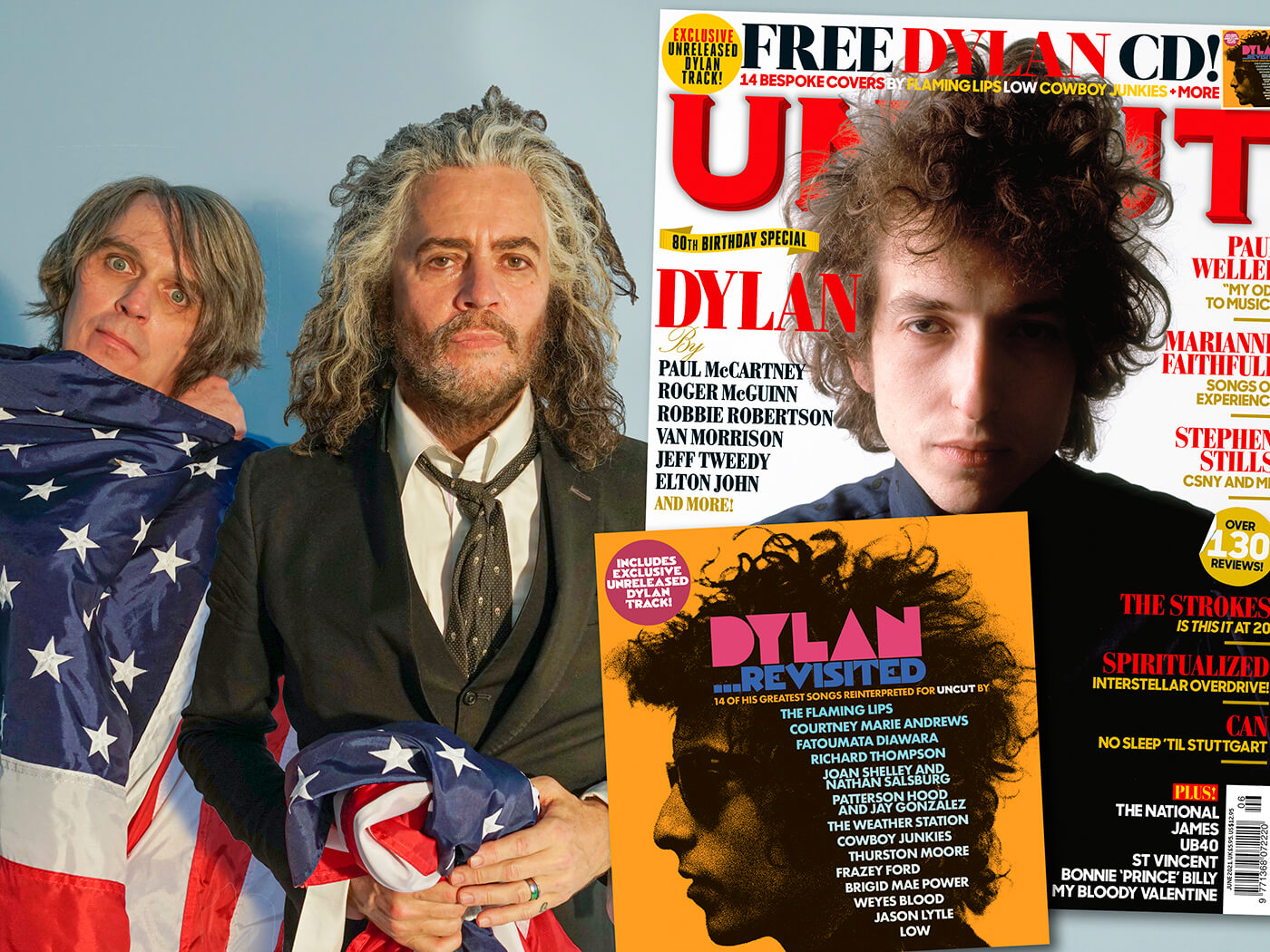 """Hear Flaming Lips' version of """"Lay Lady Lay"""" from our exclusive Bob Dylan covers CD"""