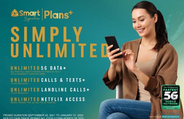 Smart pioneers Unli 5G postpaid offers with new Signature Plans+