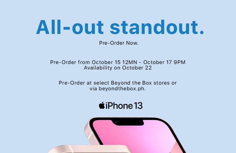 The iPhone 13 Series. Pre-Order Now at Beyond the Box!