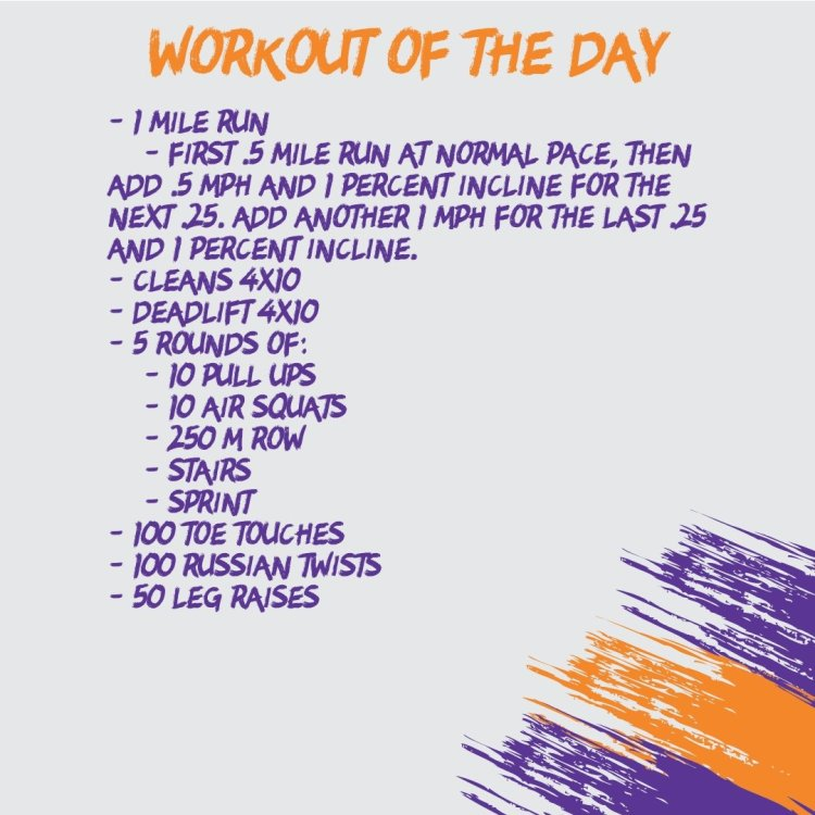 Full Body Workout (WOD 10/23)