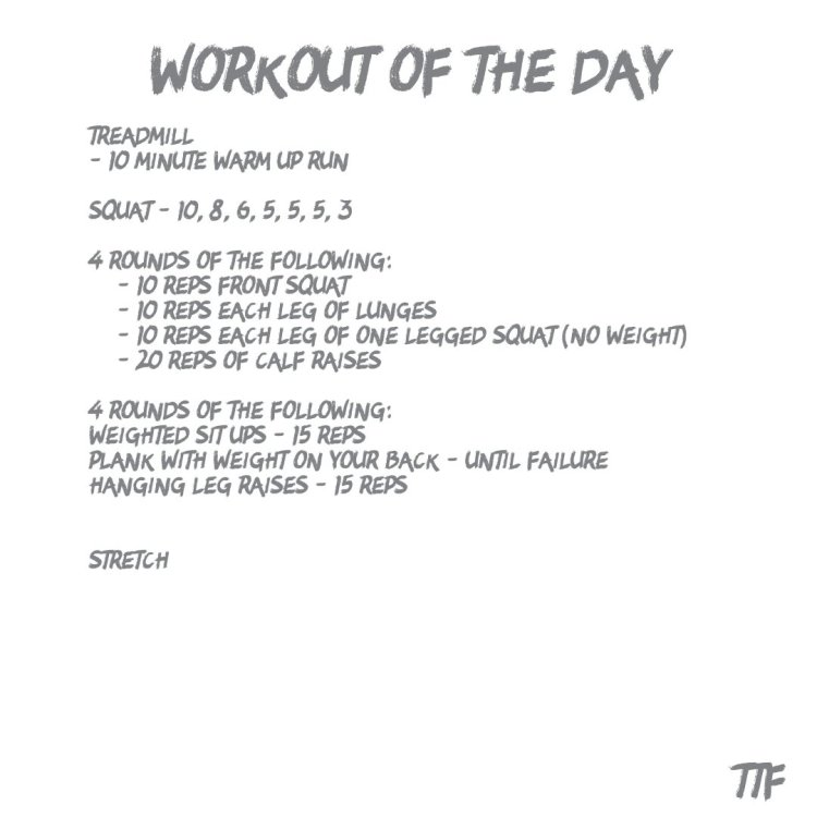 Strength Leg Workout with Circuit